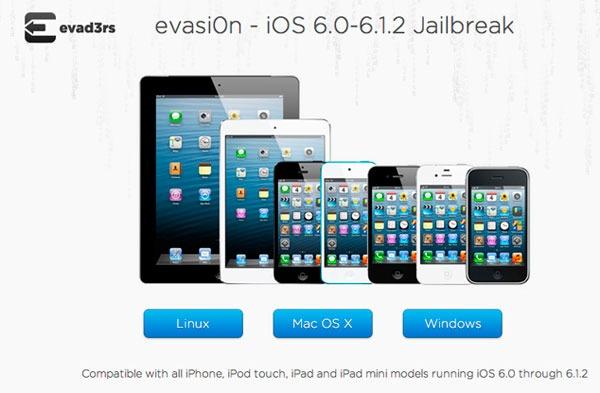 Cómo hacer el Jailbreak a un iPhone con iOS 6.1.2
