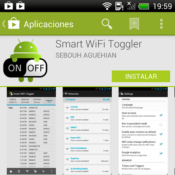 Android SmartWiFiToggler 01