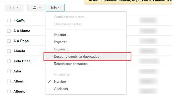 Android contactos duplicados 01