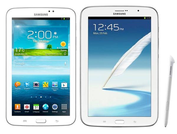 Comparativa Samsung Galaxy Tab 3 vs Samsung Galaxy Note 8.0