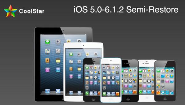 Semi-Restore permite restaurar el iPhone iOS 6.1.2 sin perder el Jailbreak