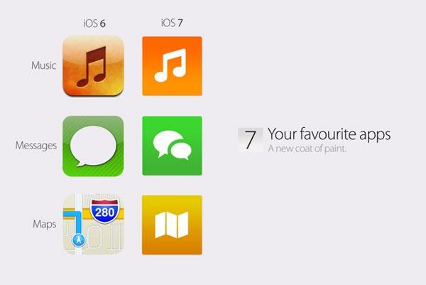 Nuevos detalles sobre el diseño de iOS 7 para iPhone y iPad