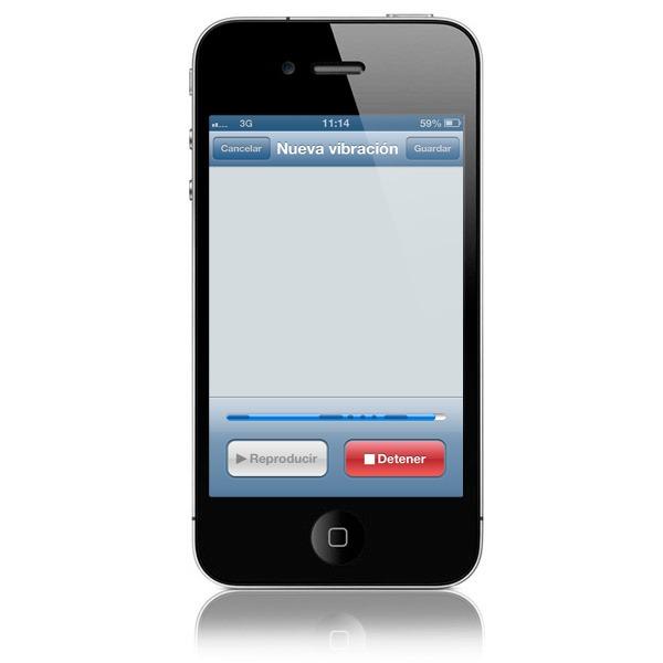 Personaliza los tonos de vibración de tu iPhone