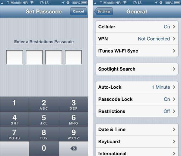 Descubren un fallo de seguridad en las restricciones del iPhone