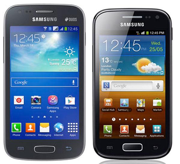 Comparativa Samsung Galaxy Ace 3 vs Samsung Galaxy Ace 2