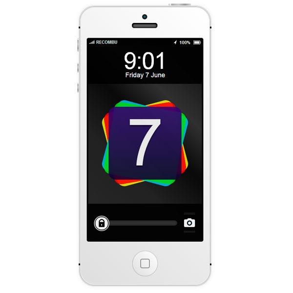 Prueba el nuevo diseño de iOS 7 para iPhone con esta aplicación web