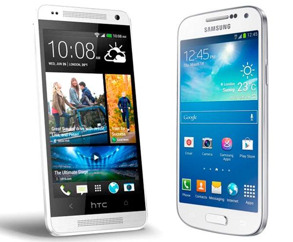 Comparativa HTC One Mini vs Samsung Galaxy S4 Mini