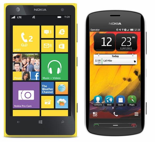 Comparativa, Nokia Lumia 1020 vs Nokia 808 PureView