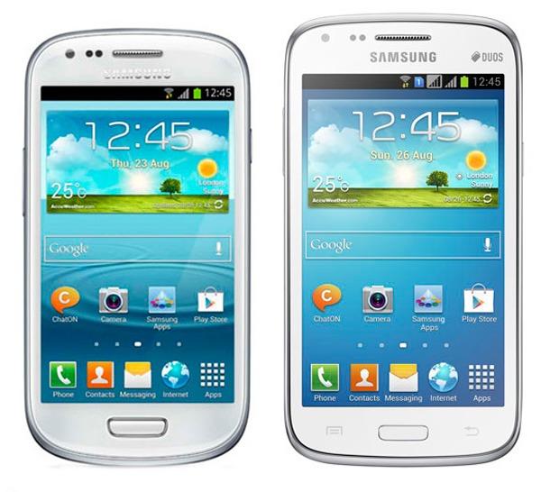 Comparativa Samsung Galaxy S3 Mini vs Samsung Galaxy Core