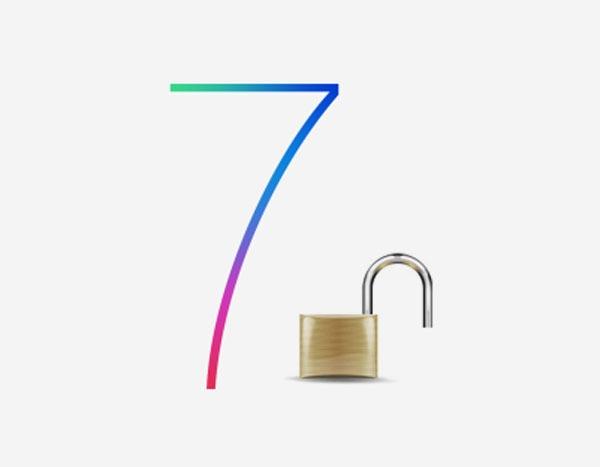 Primera imagen del Jailbreak sobre iOS 7