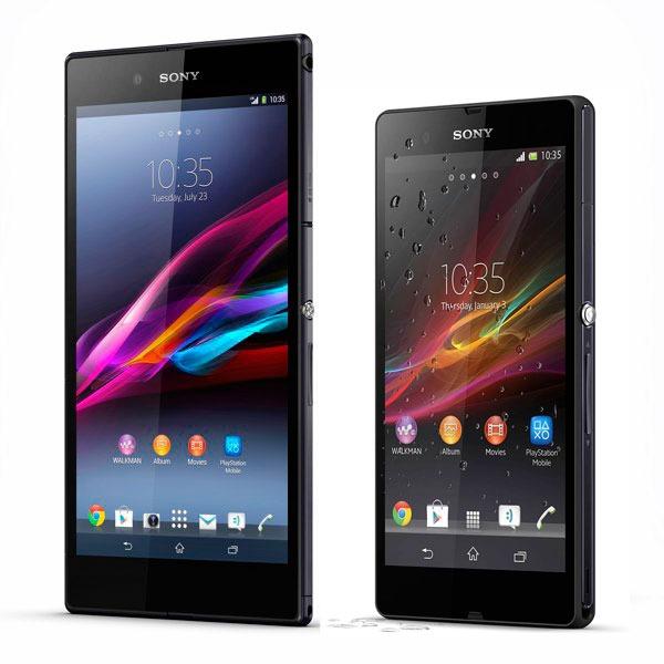 Comparativa Sony Xperia Z Ultra vs Sony Xperia Z