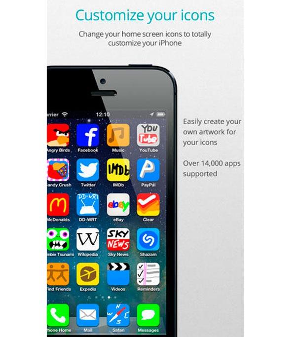 Personaliza los iconos de tu iPhone o iPad sin Jailbreak