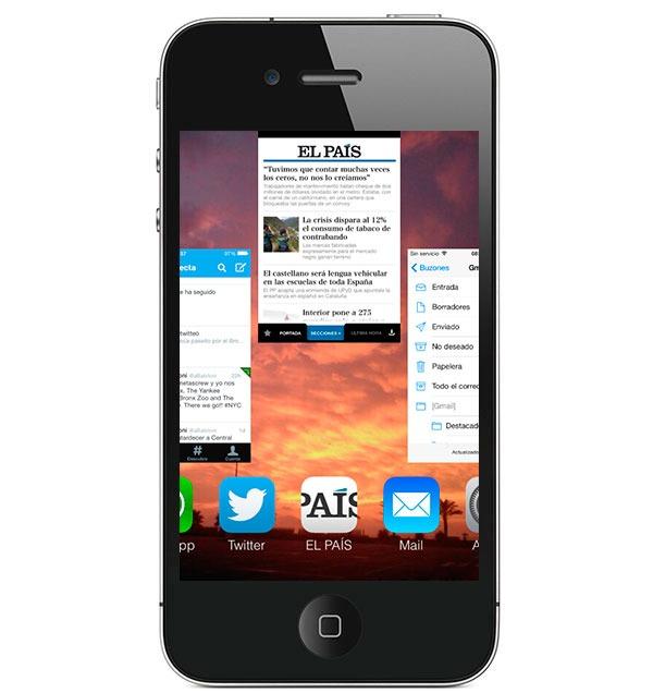 Cerrar las apps abiertas no mejora la batería de tu smartphone