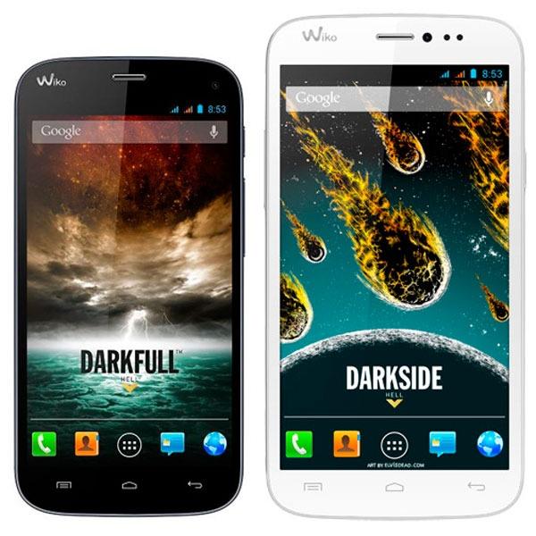 Comparativa Wiko Darkfull vs Wiko Darkside