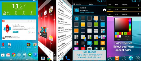 Android launchers nova