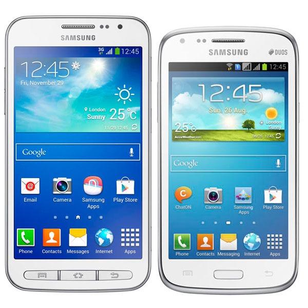 Comparativa Samsung Galaxy Core Advance vs Samsung Galaxy Core