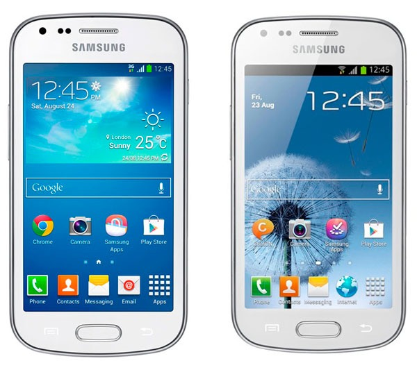 Comparativa Samsung Galaxy Trend Plus vs Samsung Galaxy Trend