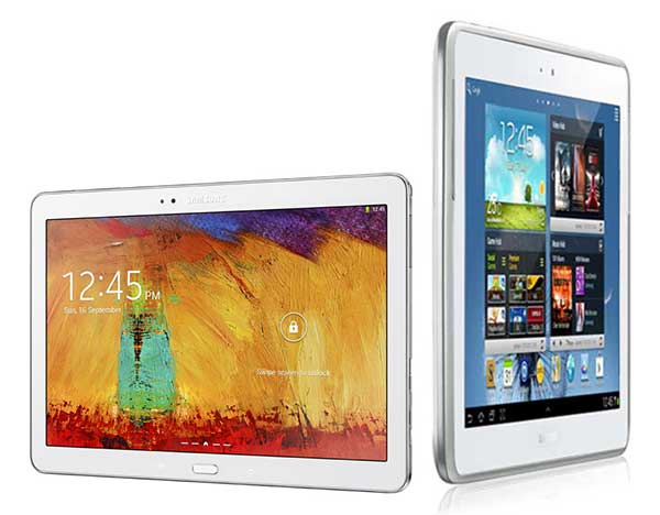 Comparativa Samsung Galaxy Note 10.1 2014 vs Samsung Galaxy Note 10.1