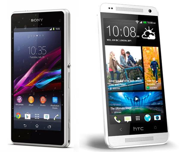 Comparativa Sony Xperia Z1 Compact vs HTC One Mini