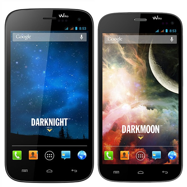 Comparativa Wiko Darknight vs Wiko Darkmoon