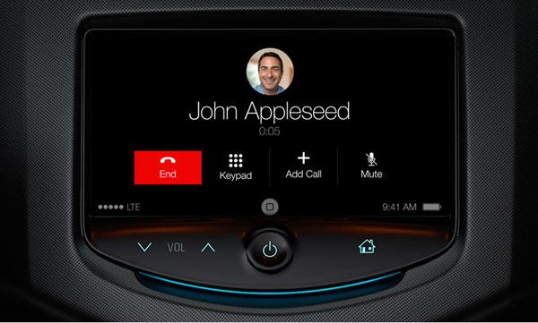 Se filtran pantallazos del modo 'iOS en el coche' previsto para iOS 7.1
