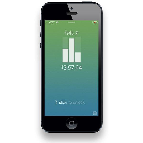 Cambia el reloj de la pantalla de bloqueo de tu iPhone con Jailbreak
