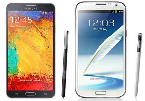 Comparativa Samsung Galaxy Note 3 Neo vs Samsung Galaxy Note 2