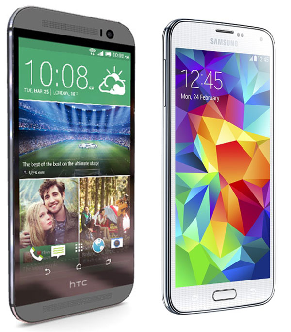 HTC One M8 vs Samsung® Galaxy™ s5