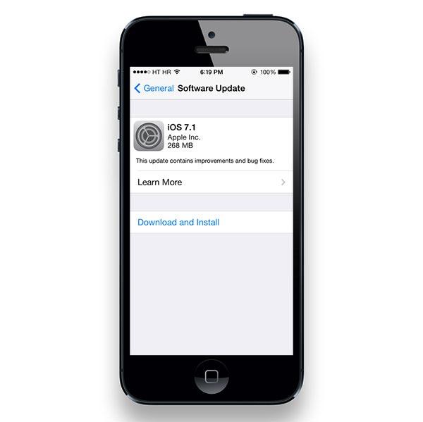 Cómo instalar iOS 7.1 en los iPhone, iPad o iPod Touch