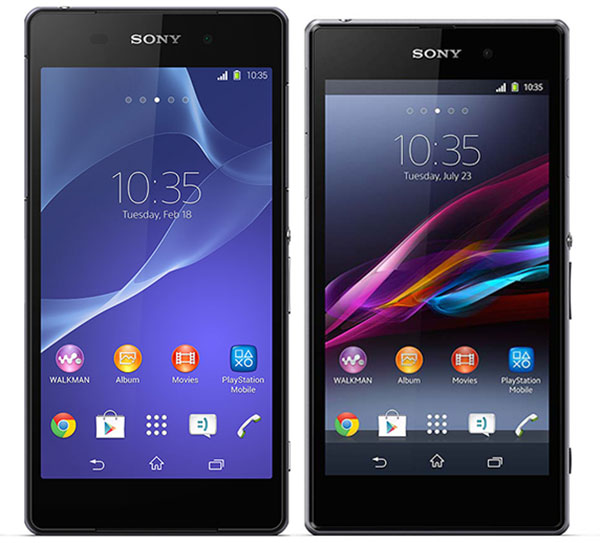 Comparativa Sony  174  Xperia    Z2 vs Sony  174  Xperia    Z1Xperia Z1 Vs Xperia Z2