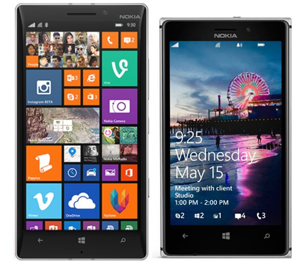 Comparativa Nokia Lumia 930 vs Nokia Lumia 925