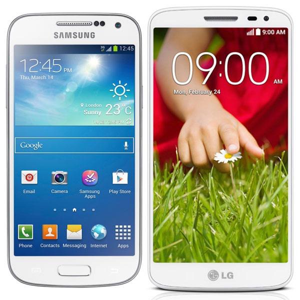 Comparativa Samsung Galaxy S4 Mini vs LG G2 Mini