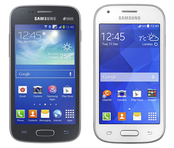 Comparativa Samsung Galaxy Ace 3 vs Samsung Galaxy Ace Style