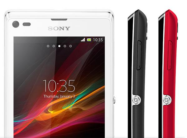 Comparativa Sony Xperia M vs Sony Xperia LXperia L Vs Xperia M