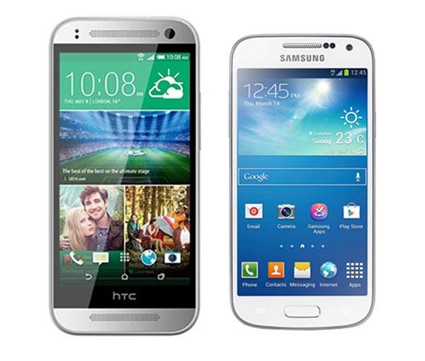 Comparativa HTC One Mini 2 vs Samsung Galaxy S4 Mini