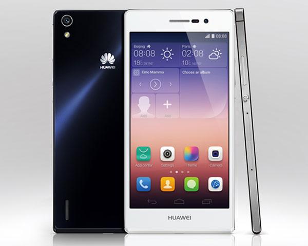 Comparativa Huawei Ascend P7 vs Huawei Ascend P6 ...