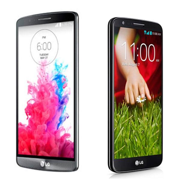 Comparativa LG G3 vs LG G2