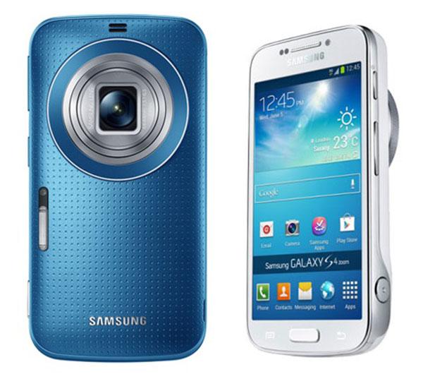 Comparativa Samsung Galaxy K Zoom vs Samsung Galaxy S4 Zoom