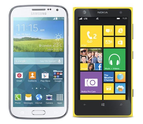 Comparativa Samsung Galaxy K Zoom vs Nokia Lumia 1020