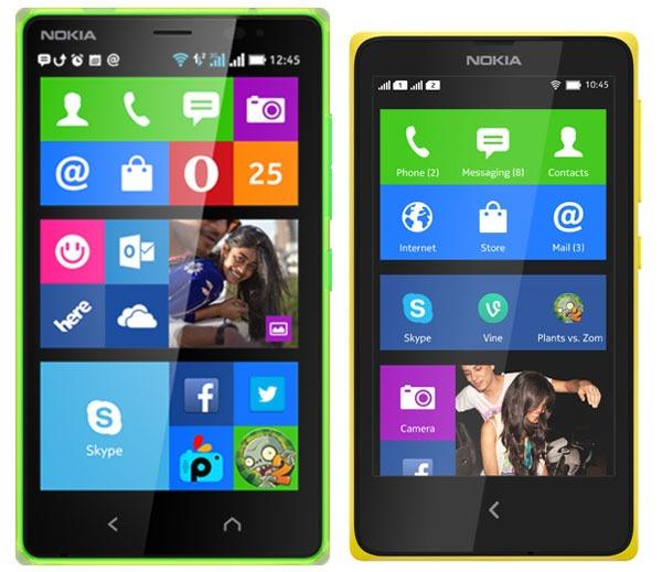 Comparativa Nokia X2 vs Nokia X