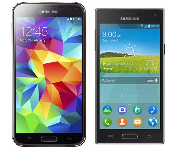 Comparativa Samsung Galaxy S5 vs Samsung Z