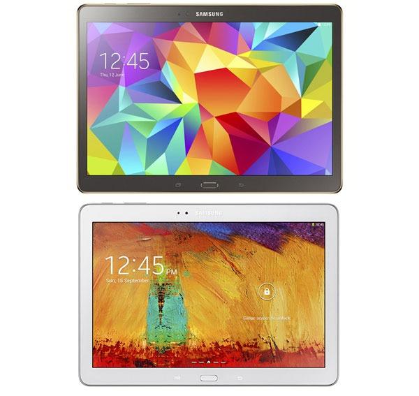 Comparativa Samsung Galaxy Tab S 10.5 vs Samsung Galaxy Note 10.1 2014