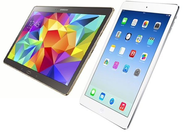 Comparativa Samsung Galaxy Tab S 10.5 vs iPad Air