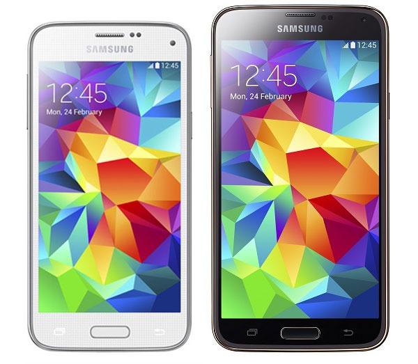 Comparativa Samsung Galaxy S5 Mini vs Samsung Galaxy S5