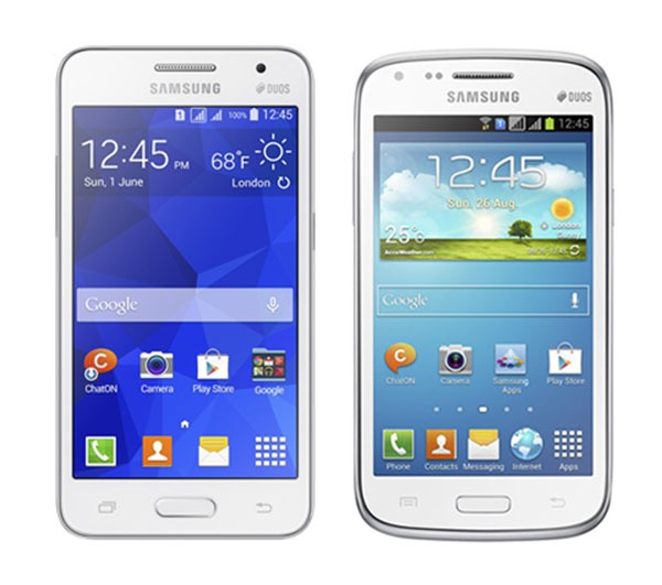 Samsung Galaxy Core 2 vs