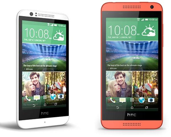 Comparativa HTC Desire 510 vs HTC Desire 610