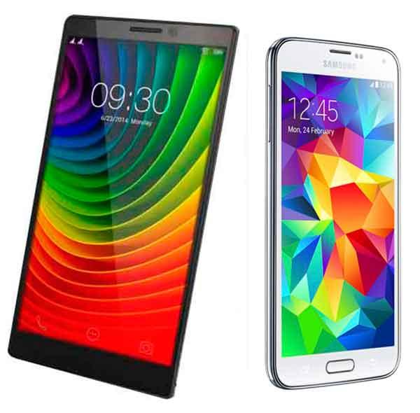 Comparativa Lenovo Vibe Z2 Pro vs Samsung Galaxy S5