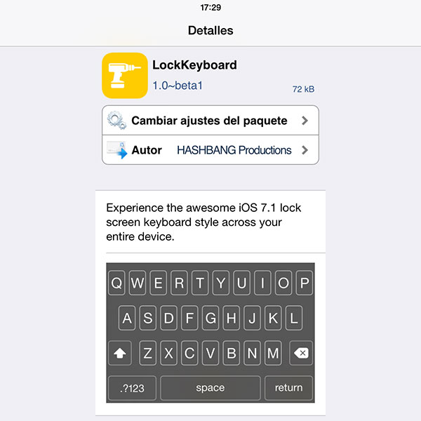 LockKeyboard Jailbreak