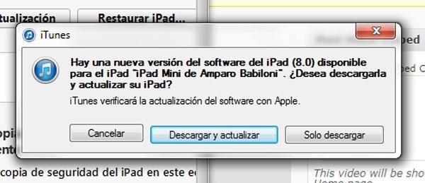 iOS 8 Instalar