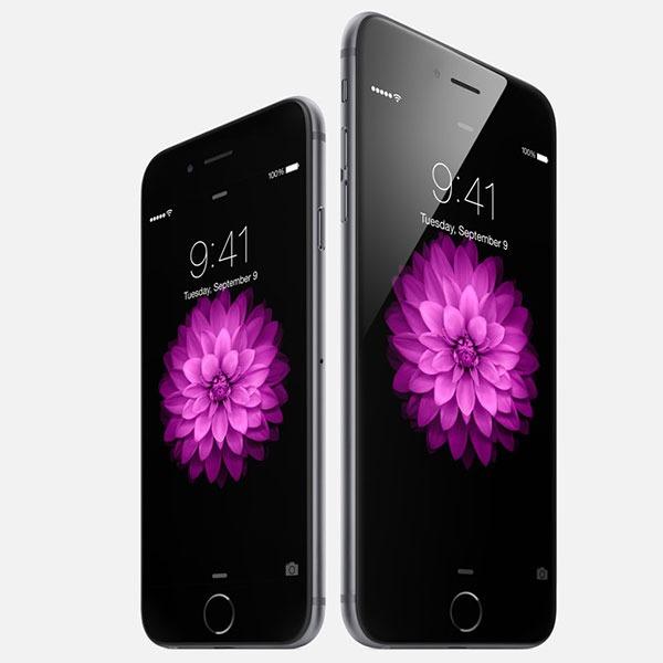 Comparativa iPhone 6 vs iPhone 6 Plus